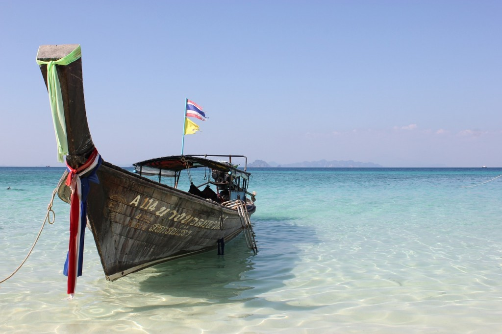 Båd Thailand