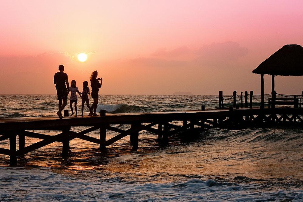 billede 1 - solnedgang